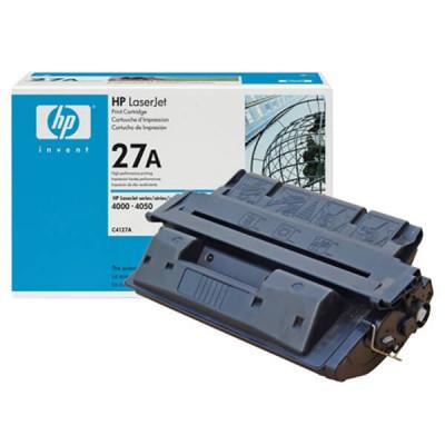 Заправка картриджа HP 27A